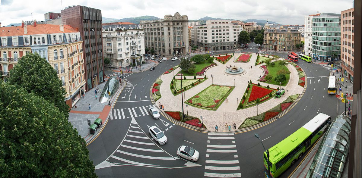 Plaza Moyúa | Turismo en Euskadi, País Vasco