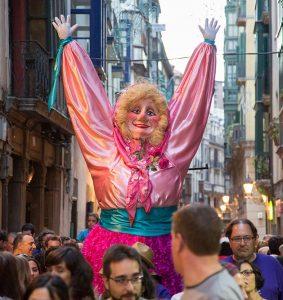 Marijaia en Fiestas de Bilbao