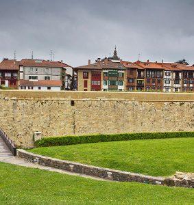 Muralla Hondarribia