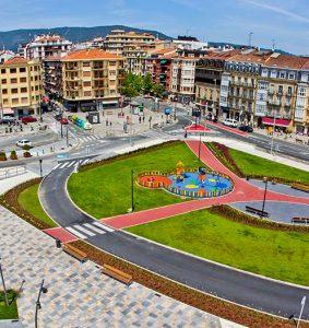 Plaza de San Juan. Irun