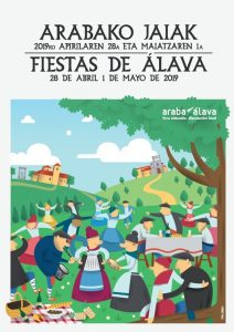 ARABAKO-JAIAK-FIESTAS-DE-ÁLAVA-2019-KARTELA