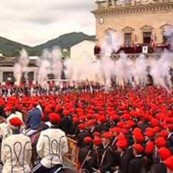 Alarde Irun. Fiestas de San Pedro y San Marcial