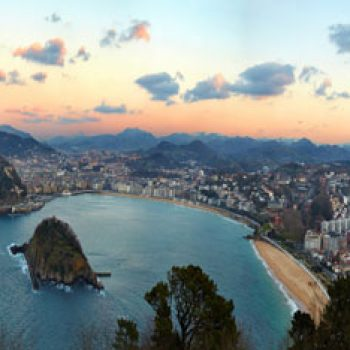 Vista aérea Donostia / San Sebastián