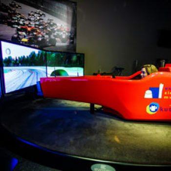 Eureka! Zientzia Museoa-Simulador-Formula1